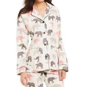 P. J. Salvage Elephant Walk Flannel Set